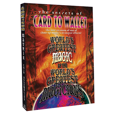 World's Greatest Magic - Card To Wallet - magic