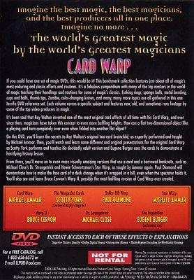 World's Greatest Magic - Card Warp