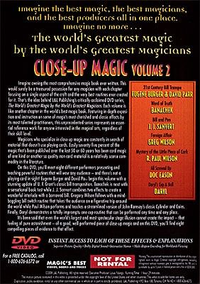 World's Greatest Magic - Close Up Magic 2