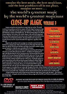 World's Greatest Magic - Close Up Magic 3