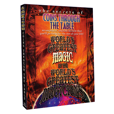 World's Greatest Magic - Coins Through Table