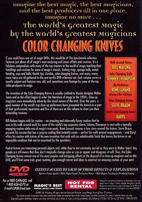 World's Greatest Magic - Color Changing Knives