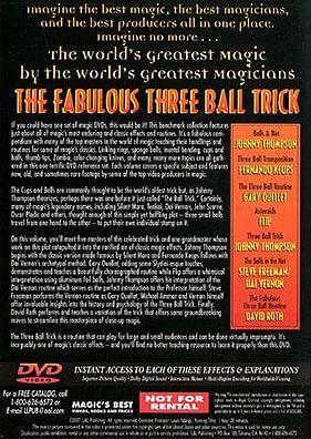 World's Greatest Magic - Fabulous Three Ball Trick