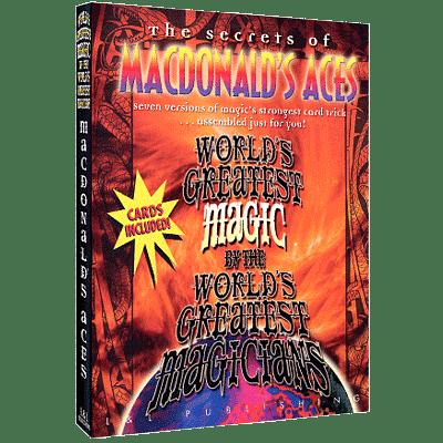 World's Greatest Magic - MacDonald's Aces - magic