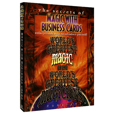 World's Greatest Magic - Business Cards - magic