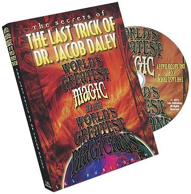 World's Greatest The Last Trick of Dr. Jacob Daley - magic