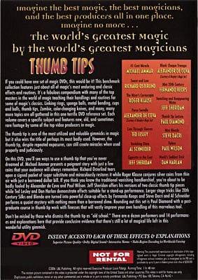 World's Greatest Magic - Thumbtips