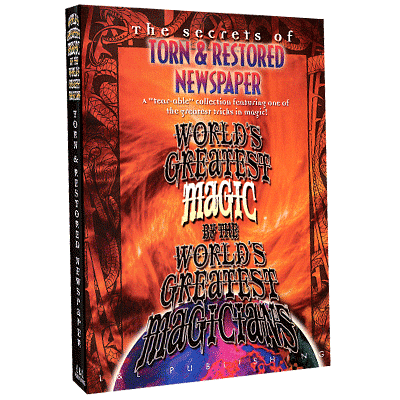 World's Greatest Magic - Torn And Restored Newspaper - magic