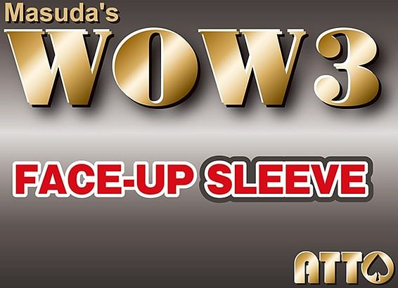 WOW 3 Face-Up Sleeve - magic