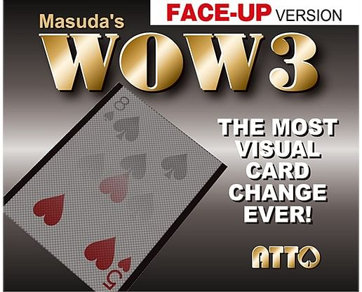 WOW 3 Face-Up - magic