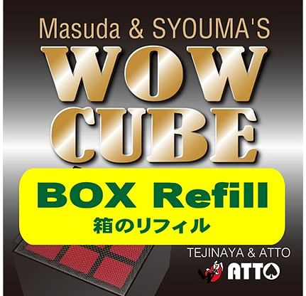 WOW CUBE REFILL BOX - magic