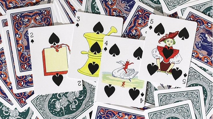 Ye Witches' Fortune Gilded Playing Cards