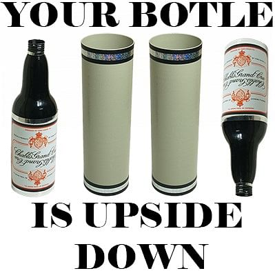 Your Bottle is Upside Down! - magic
