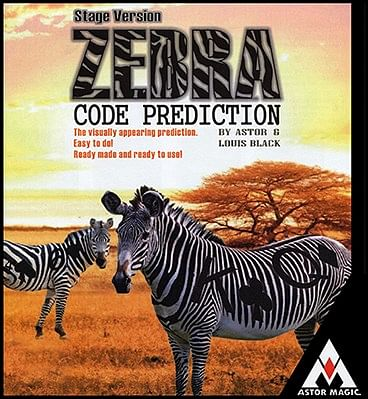 Zebra Code Prediction - Stage - magic
