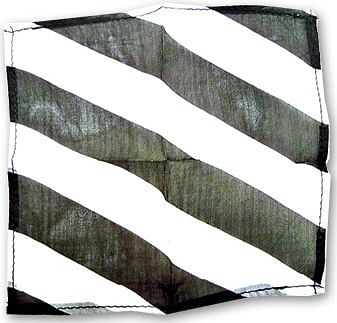 "Zebra Silk 9"" (Black & White) - magic"