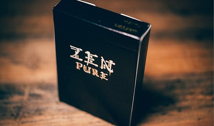 Zen Pure Gold Playing Cards - magic
