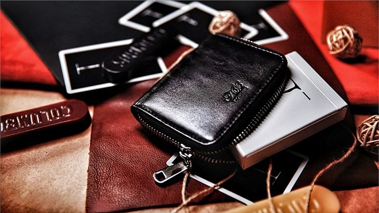 Zipper Playing Card Case - magic
