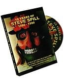 10 Years of Steve Spill 1980 - 1990 DVD or download