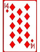 14 of Diamonds Card Trick
