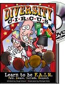 Diversity Circus Graphic Novel and DVD DVD and book set