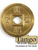 Dollar Size Chinese Coin (Brass) Trick