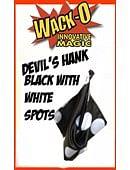 Super Giant Devil's Hank -- Black with Big White Spots Trick