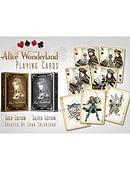 Alice of Wonderland (Gold) Deck of cards