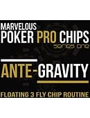 Ante Gravity (Floating 3 Fly Poker Chip) Gimmicked coin