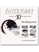 Antinomy Magazine #10 Magazine