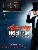 Appearing Metal Cane (Black) Trick