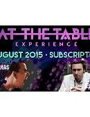 At The Table - August 2015 Live lecture