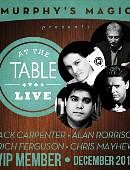 At The Table VIP Member - December 2014  Live lecture
