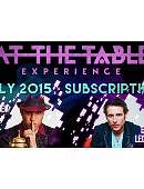 At The Table - July 2015 Live lecture