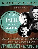 At The Table - November 2014  Live lecture