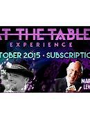 At the Table - October 2015