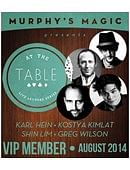 At The Table - August 2014 Live lecture