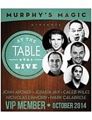 At The Table - October 2014 Live lecture