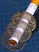 Cigarette Thru Coin - Quarter (Bélanger) Gimmicked coin