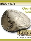 Bent Coin - Quarter Gimmicked coin
