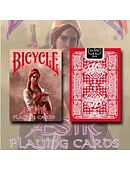 Bicycle Aesir Viking Gods Playing Cards (Red) Deck of cards