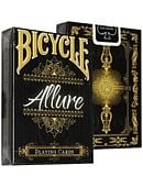 Bicycle Allure Black Deck Deck of cards