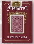 Bicycle Aristocrat 727 Playing Cards Deck of cards