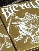 Bicycle Asura Gold Playing Cards