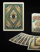 Bicycle Blackout Kingdom Deck (Light Shade) Deck of cards