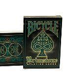 Bicycle Brimstone Deck (Aqua) Deck of cards