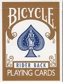 Bicycle Brown Playing Cards Deck of cards