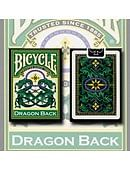 Bicycle Dragon Back Playing Cards (Green) Deck of cards