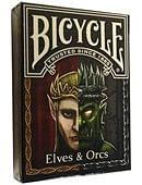 Bicycle Elves and Orcs Deck
