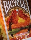 Bicycle Four Seasons Limited Edition Autumn Playing Cards
