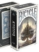 Bicycle Kingdoms Playing Cards (Blue)